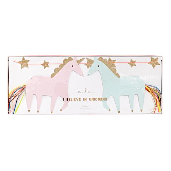 Land Of Nod I Believe In Unicorns Banner Picture