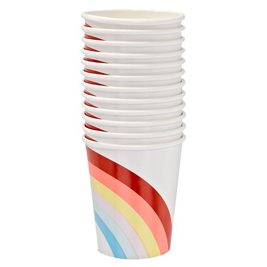 Land Of Nod rainbow paper cups picture