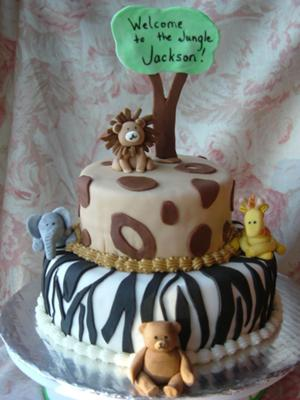 Welcome to the Jungle Cake