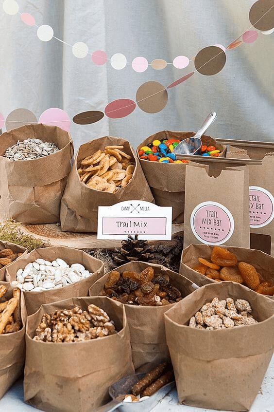 Woodland Baby Shower Theme Snack Idea
