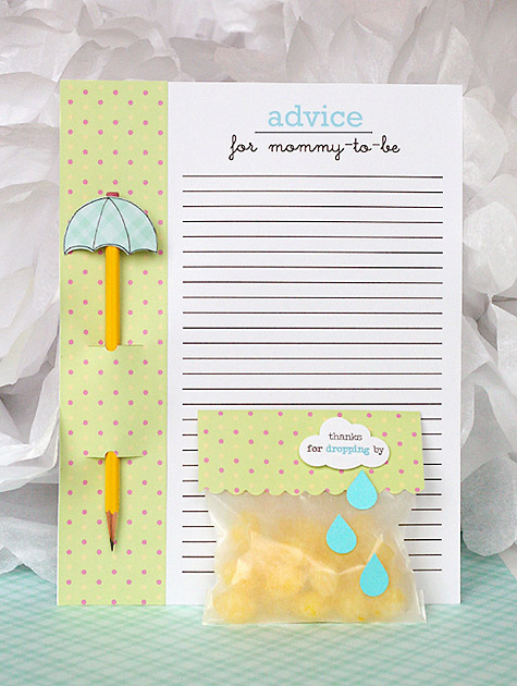 Cute baby shower theme idea for a gender neutral theme