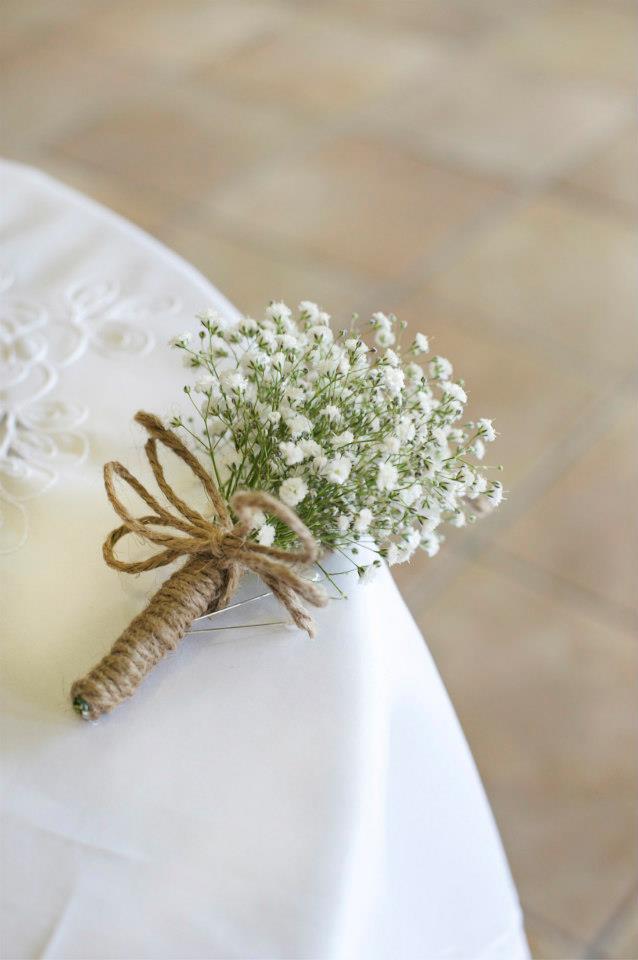 image of mini baby's breath corsage