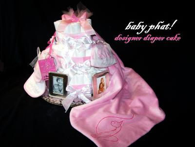 baby shower diaper cake picture