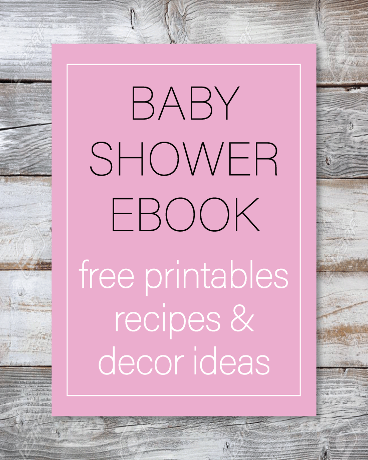 baby shower ebook