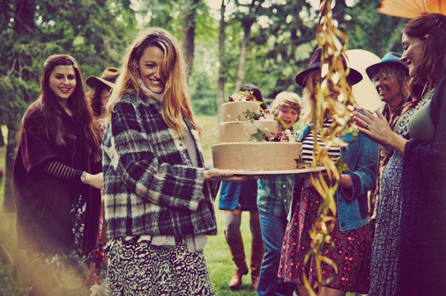 Picture of Blake Lively's baby shower 2014