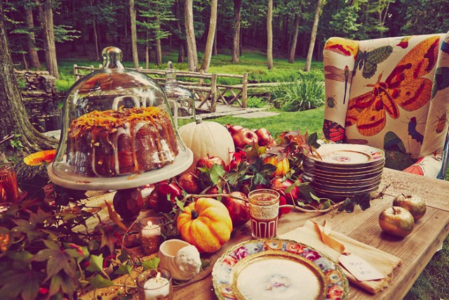 Picture of Blake Lively's rustic woodland baby shower