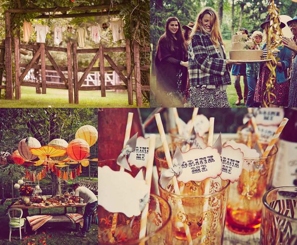 blake lively 39 s first baby shower 2014 rustic woodland theme