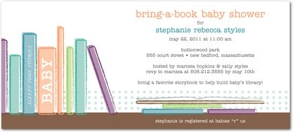 Cute & Clever Wording Ideas For Book Baby Shower Invitations
