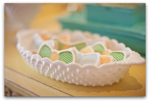 picture of a bow tie baby shower cookies