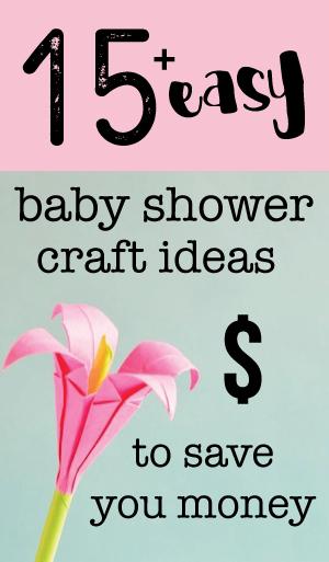 baby shower craft ideas banner