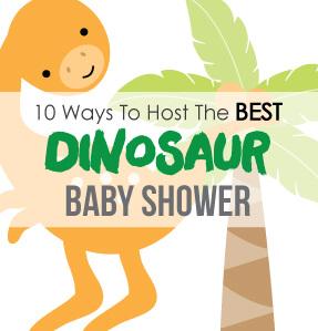 Dinosaur Baby Shower Theme Banner