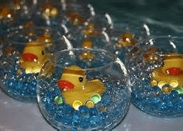 5 Rubber Ducky Pond Gl Bowl Table Centerpieces