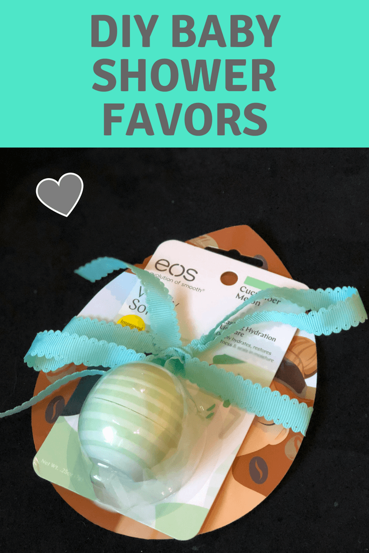 image for DIY baby shower favor and prize ideas