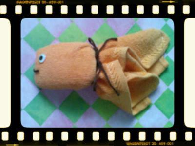 fish and soap washcloth