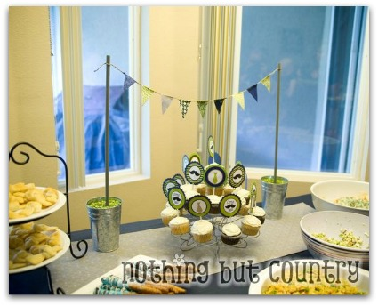 image of a baby shower for a boy