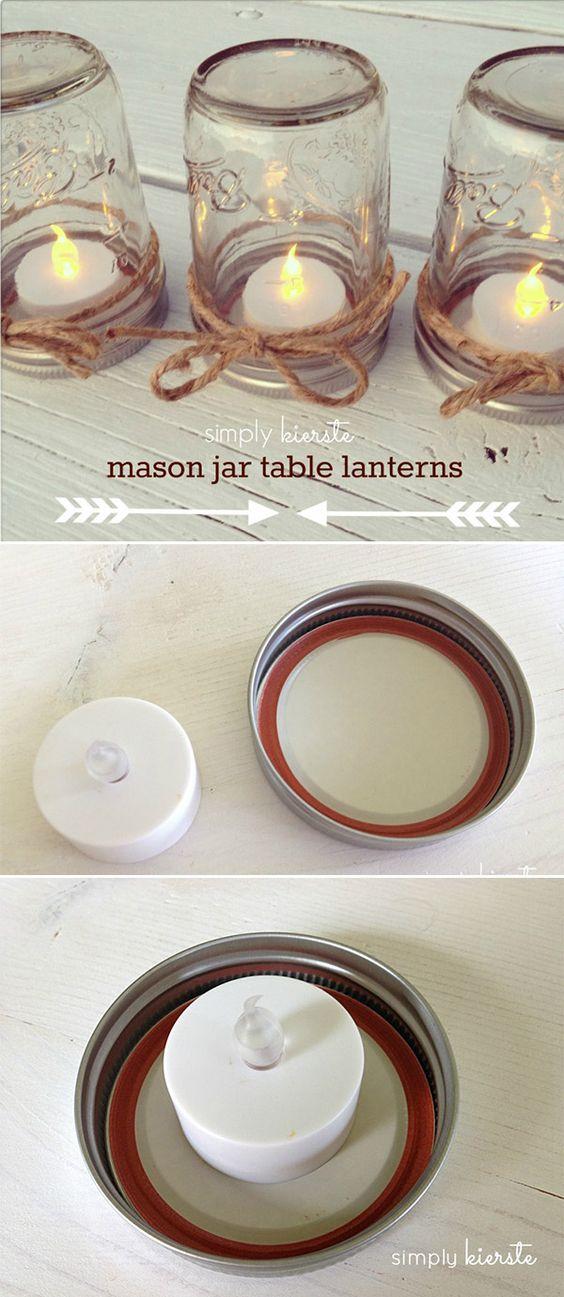 Easy Diy Mason Jar Ideas For A Rustic Baby Shower
