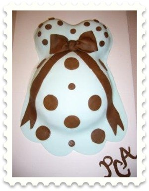 baby bump cake picture