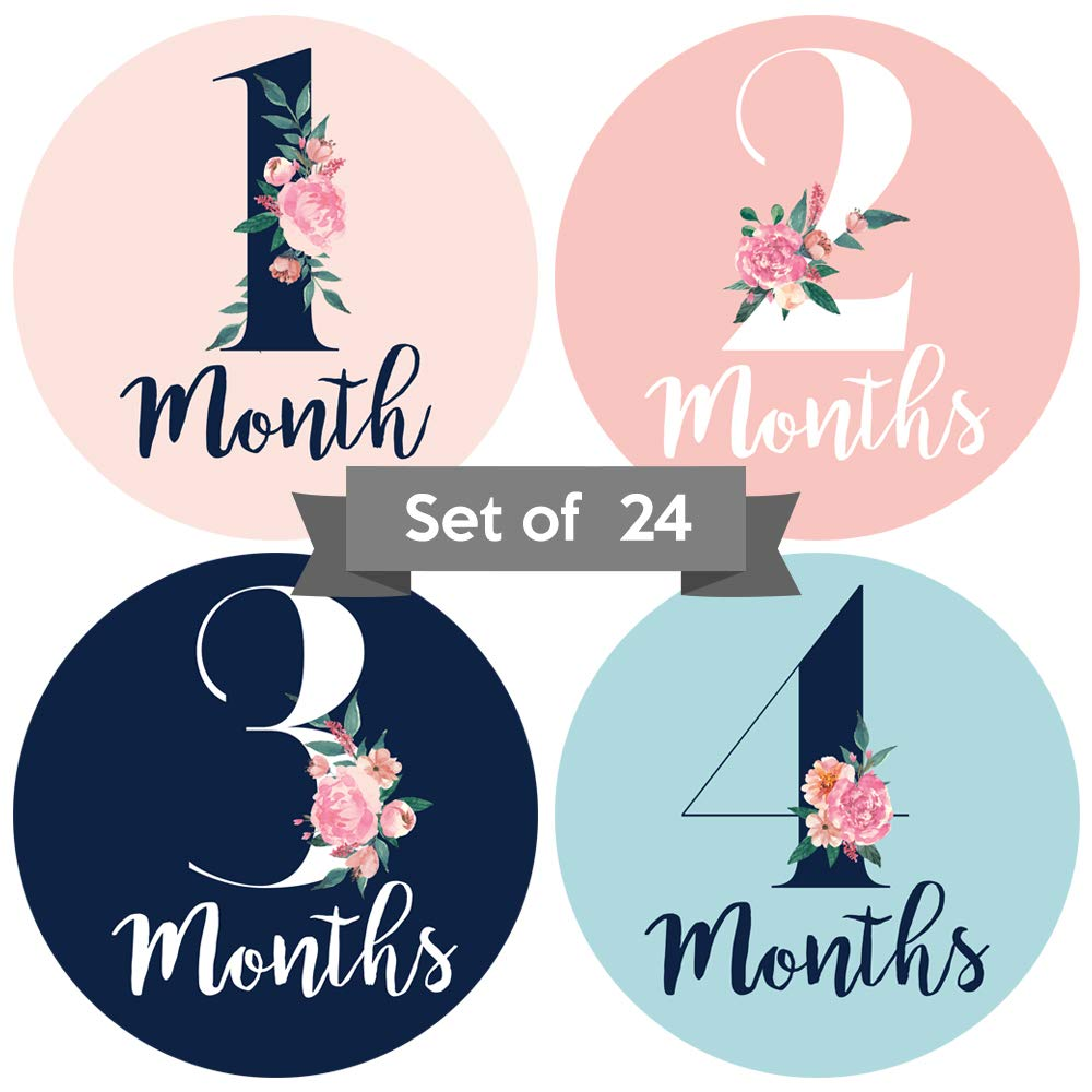 Monthly Anniversary Stickers