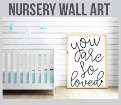 picture of baby nursery wall art