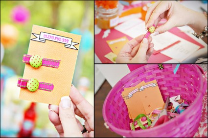picture of baby shower favor ideas