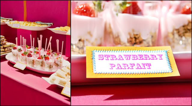 picture of baby shower desserts