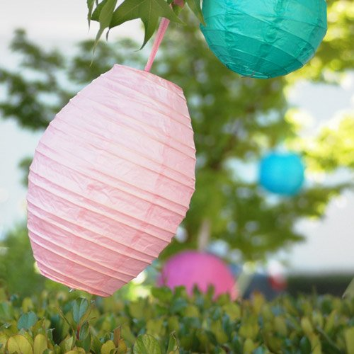 image of paper lantern decorations