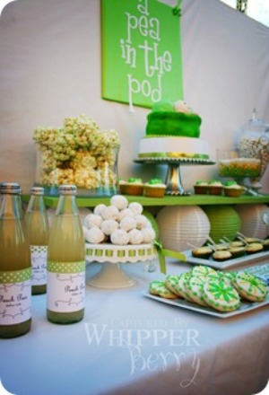 picture of cute pea in a pod baby shower ideas