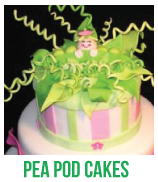 pea pod cakes banner