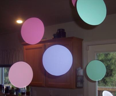 polka dot baby shower