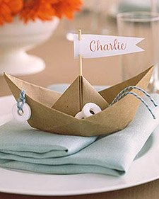 image of a cute boat baby shower
