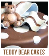 picture of teddy bear baby shower cakes
