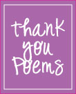 image of baby shower thank you poems
