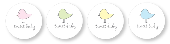 picture relating to Printable Baby Gift Tags titled Boy or girl Shower Desire Tag Printables