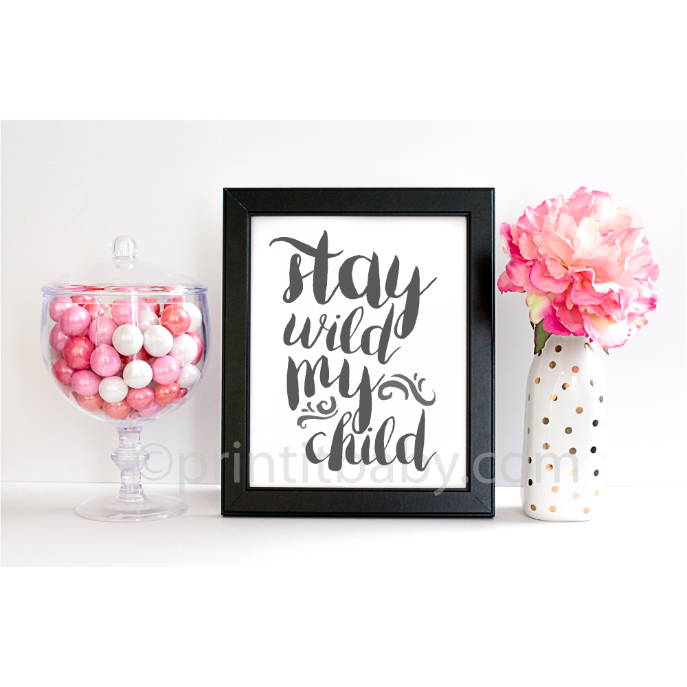 wild child wall art