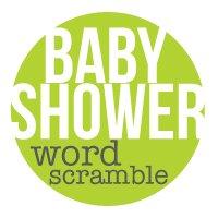 baby shower games word scramble